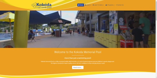 Kokoda Memorial Pool